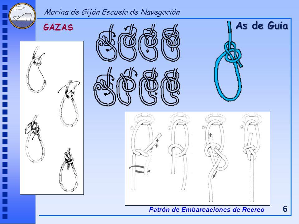 GAZAS As de Guia Patrón de Embarcaciones de Recreo 6 Marina de Gijón Escuela de Navegación