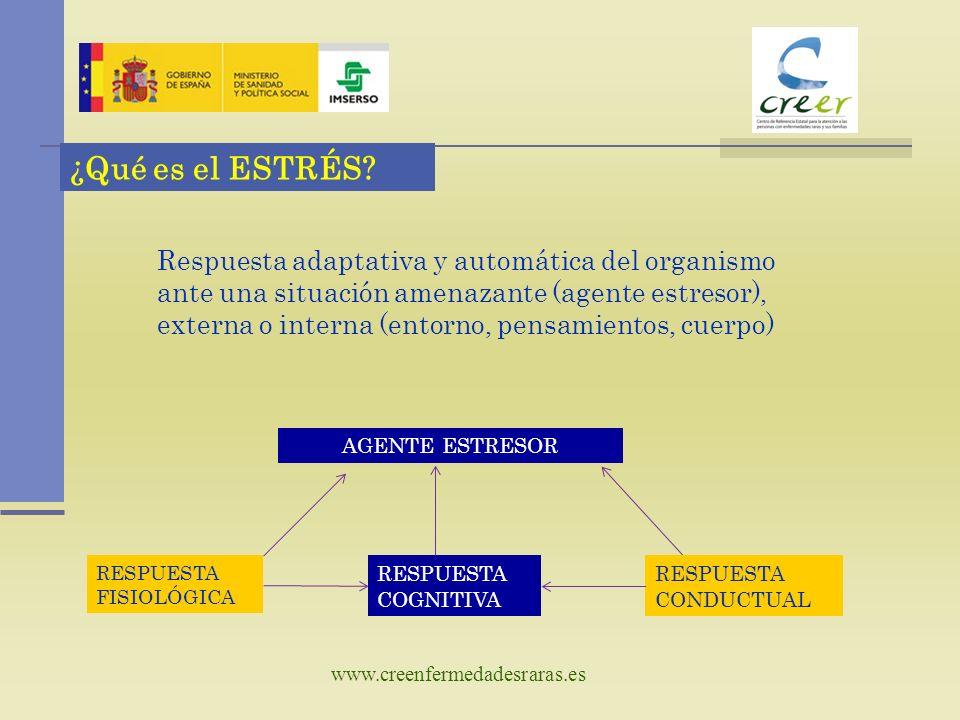 www.creenfermedadesraras.es ¿Qué es el ESTRÉS.