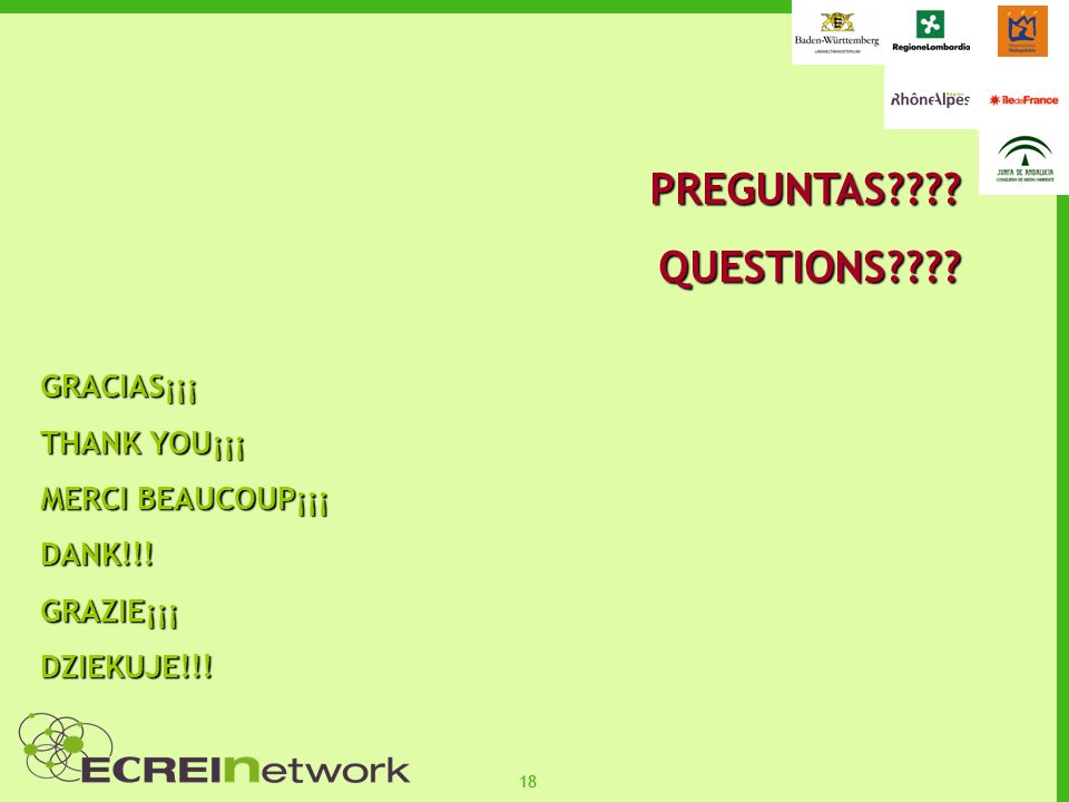 18 PREGUNTAS QUESTIONS GRACIAS¡¡¡ THANK YOU¡¡¡ MERCI BEAUCOUP¡¡¡ DANK!!!GRAZIE¡¡¡DZIEKUJE!!!