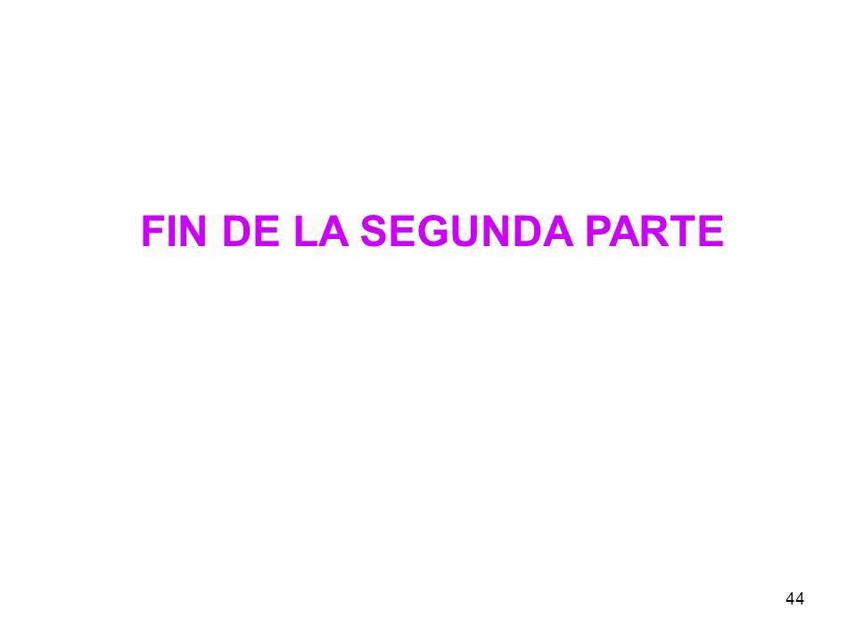 44 FIN DE LA SEGUNDA PARTE