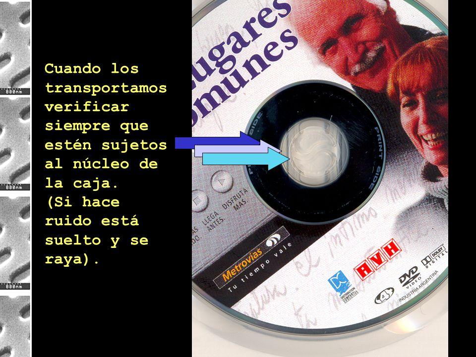 ¿Qué podemos hacer para usar bien los DVD