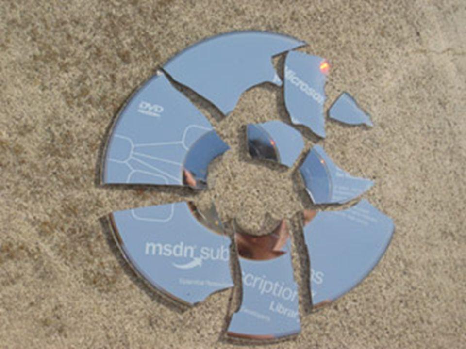 El DVD es un soporte De alta calidad y durable PERO NO ES INDESTRUCTIBLE