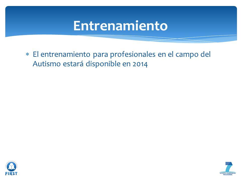 El entrenamiento para profesionales en el campo del Autismo estará disponible en 2014 Entrenamiento