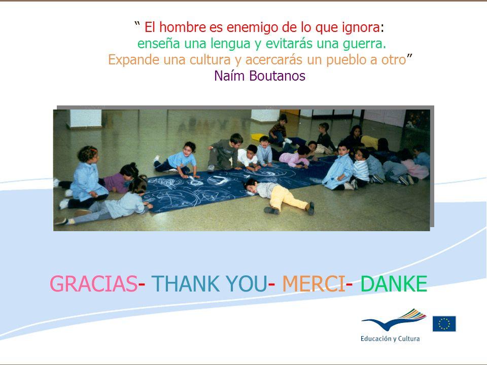 Delegación de Educación de Córdoba El hombre es enemigo de lo que ignora: enseña una lengua y evitarás una guerra. Expande una cultura y acercarás un