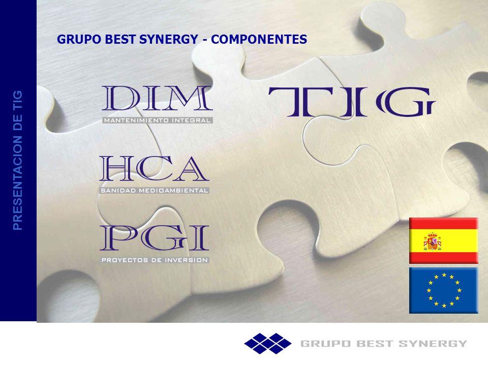 PRESENTACION DE TIG TECNICAS DE INTERMEDIACION GLOBAL EMPRESA FUNDADA EN EL AÑO 2008.