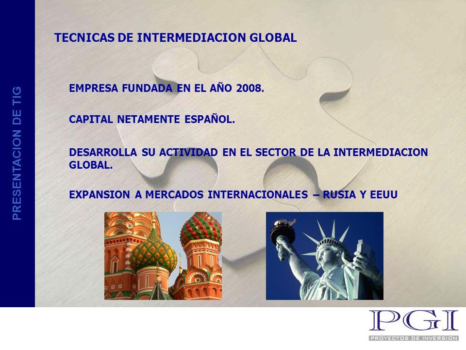 PRESENTACION DE TIG RSC - RESPONSABILIDAD SOCIAL CORPORATIVA PROGRAMA PACTO MUNDIAL DE LAS NACIONES UNIDAS CUYO FIN ES APOYAR, DEFENDER Y DIFUNDIR LOS DERECHOS HUMANOS FUNDAMENTALES, DERECHOS LABORALES, Y LA PROTECCION DEL MEDIOAMBIENTE.
