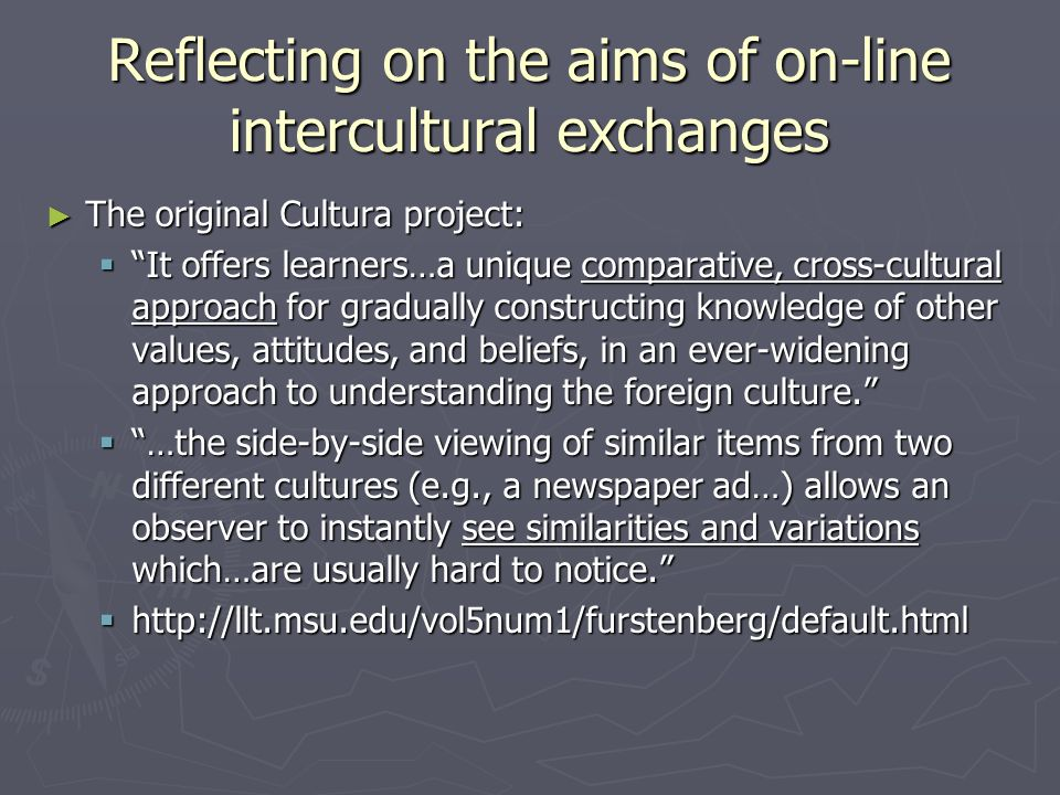 But does the on-line exchange lead to an over-emphasis on difference.