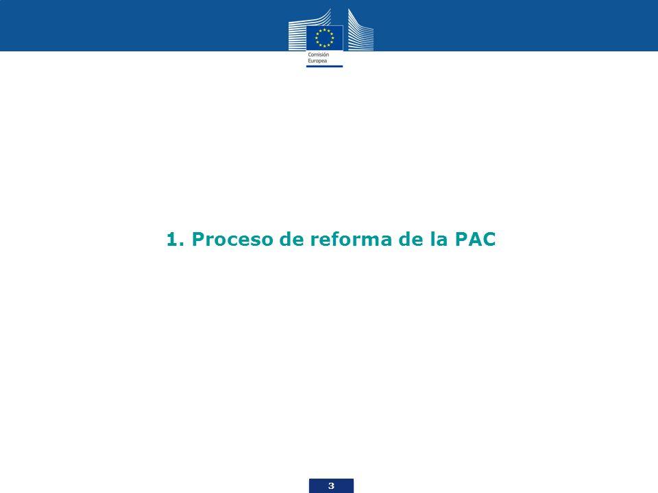 4 ¿En qué punto del proceso de reforma de la PAC nos encontramos.