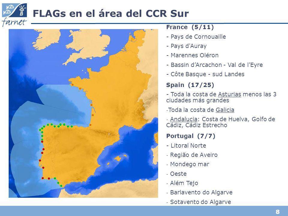 8 FLAGs en el área del CCR Sur France (5/11) - Pays de Cornouaille - Pays d'Auray - Marennes Oléron - Bassin dArcachon - Val de lEyre - Côte Basque -