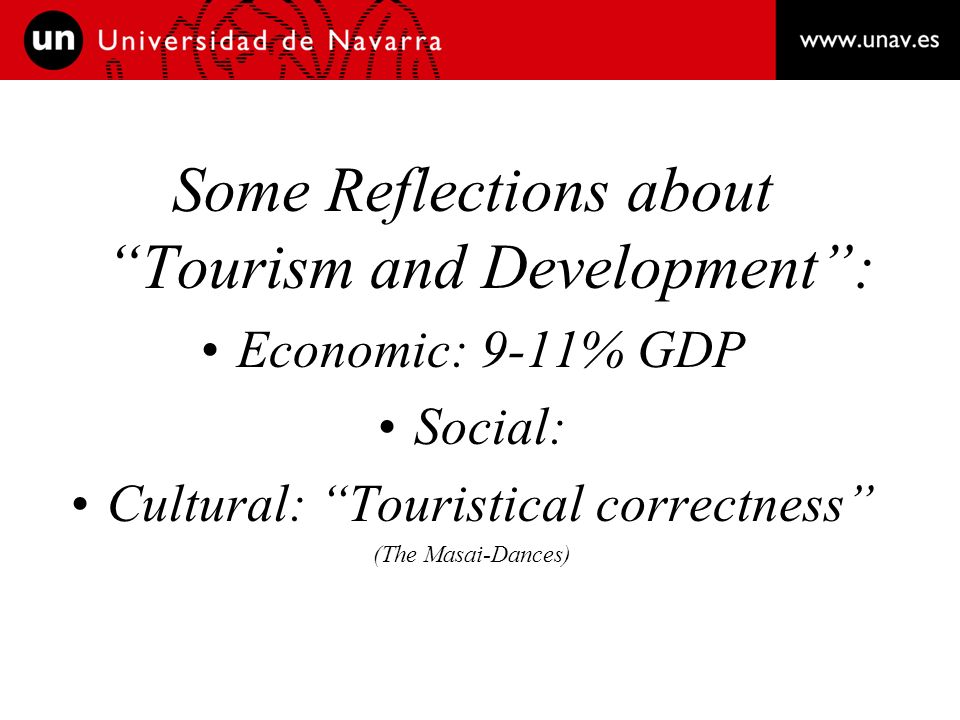 5th Question: What does Cultural Tourism mean for the Mediterranean