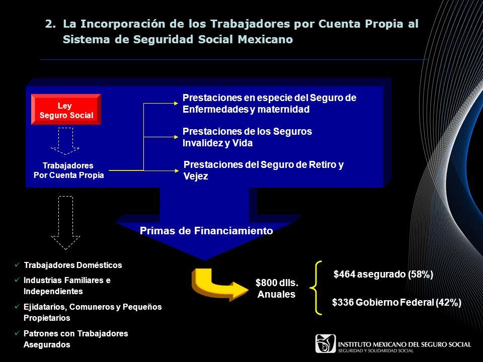 2.La Incorporación de los Trabajadores por Cuenta Propia al Sistema de Seguridad Social Mexicano Ley Seguro Social Trabajadores Por Cuenta Propia Pres