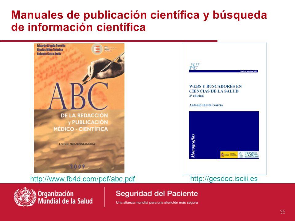 Manual de métodos de investigación Hulley S. et al. Diseño de investigaciones clínicas 3ª ed. Barcelona: Wolters Kluwer, 2008 http://www.bvsde.paho.or