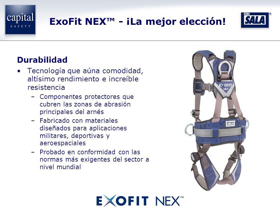 ExoFit NEX - ¡La mejor elección! Durabilidad Tecnología que aúna comodidad, altísimo rendimiento e increíble resistencia –Componentes protectores que
