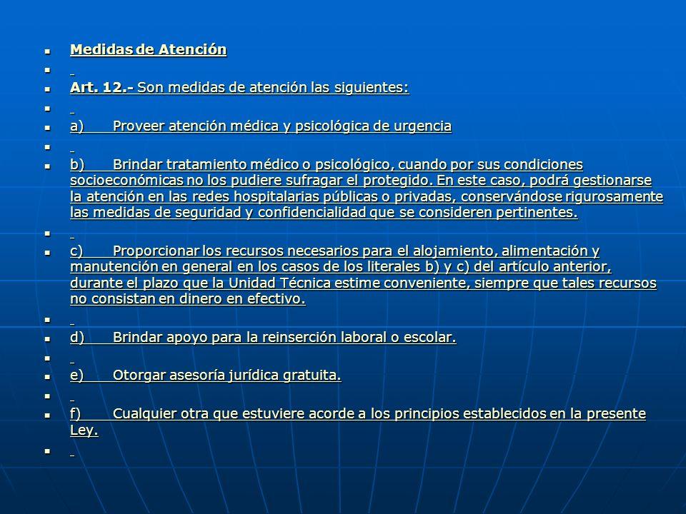 Medidas de Protección Extraordinarias Medidas de Protección Extraordinarias Medidas de Protección Extraordinarias Medidas de Protección Extraordinarias Art.
