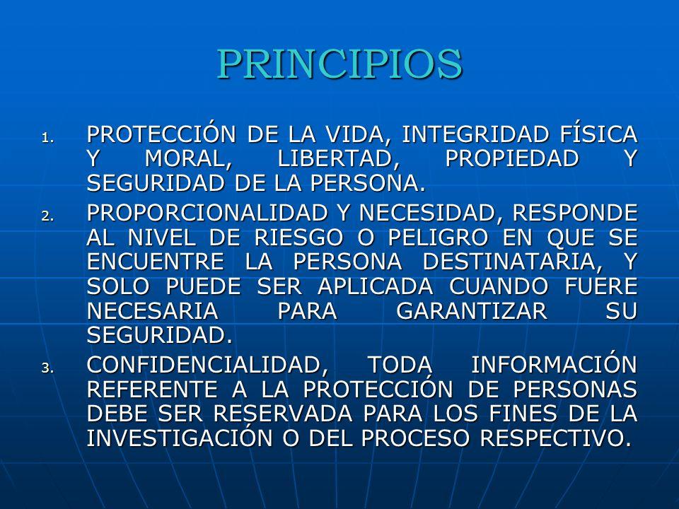 OBJETO Regular las medidas de protección y atención que se proporcionarán a las víctimas, testigos y cualquier otra persona que se encuentre en situación de riesgo o peligro, como consecuencia de su intervención en la investigación de un delito o en un proceso judicial.