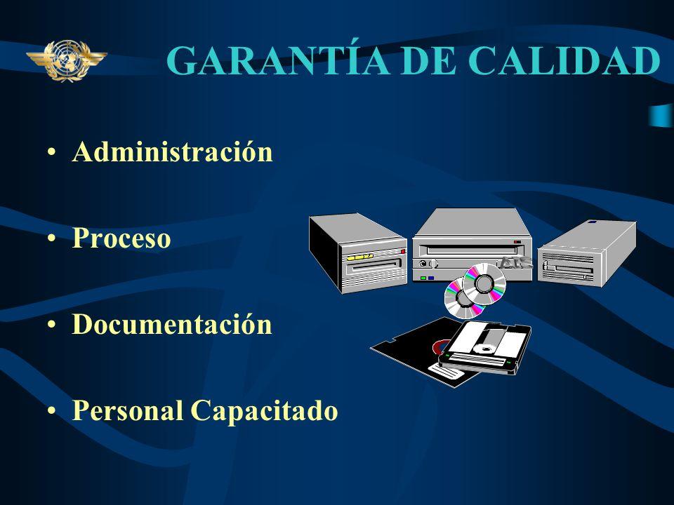 GARANTÍA DE CALIDAD CALIDAD.- Características de un Producto o Servicio para satisfacer necesidades establecidas e implícitas de los usuarios. El Sist