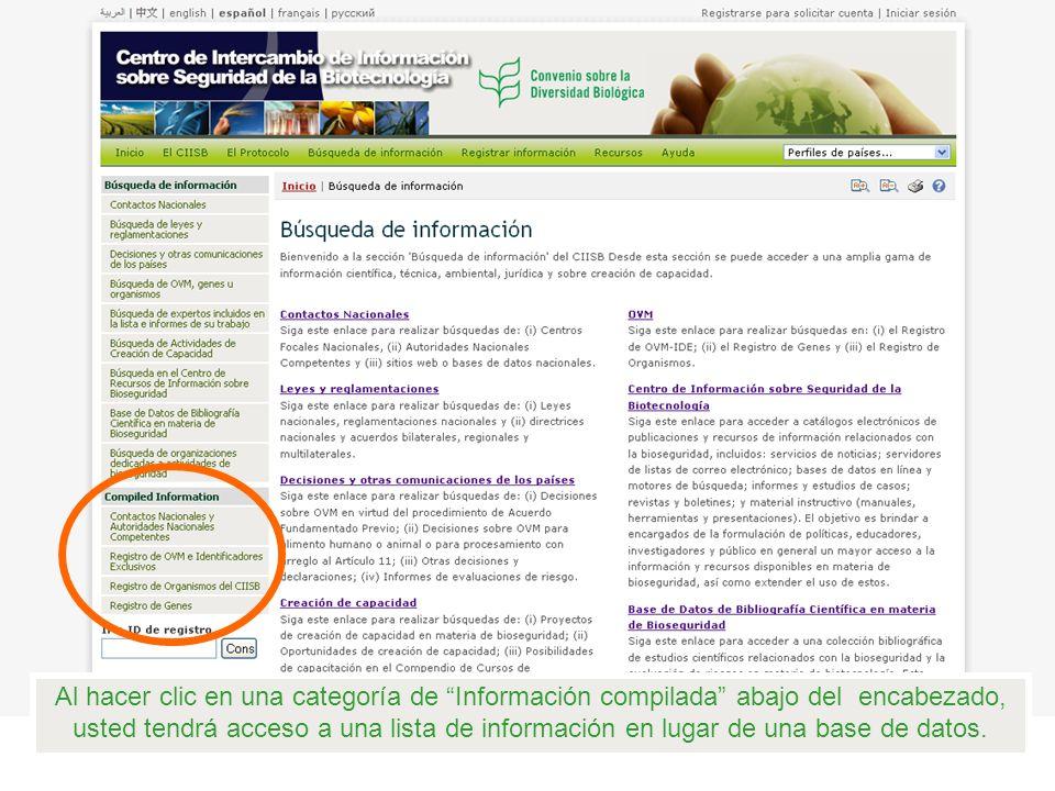 Haga clic en la flecha al lado del campo Registros , seleccione el menú despegable Registro de OVM-identificadores Exclusivos (OVM-IDEs) y haga clic en Realizar la búsqueda.