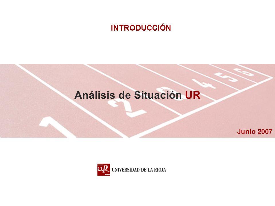 Junio 2007 Análisis de Situación UR INTRODUCCIÓN