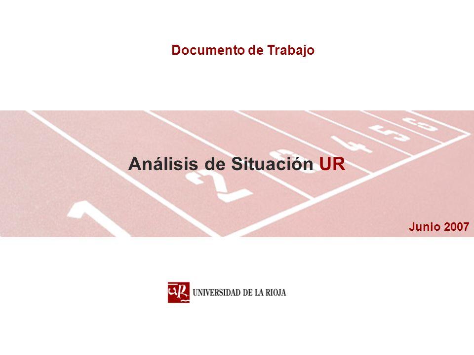 Junio 2007 Análisis de Situación UR Documento de Trabajo