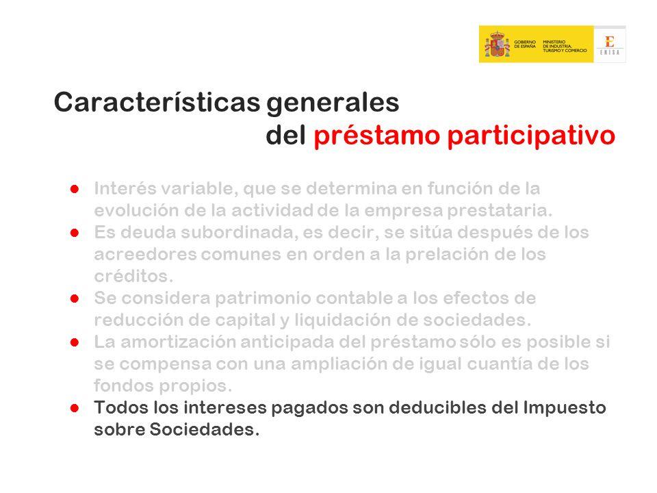 Aspectos más positivos del préstamo participativo para las empresas No se aportan garantías reales.
