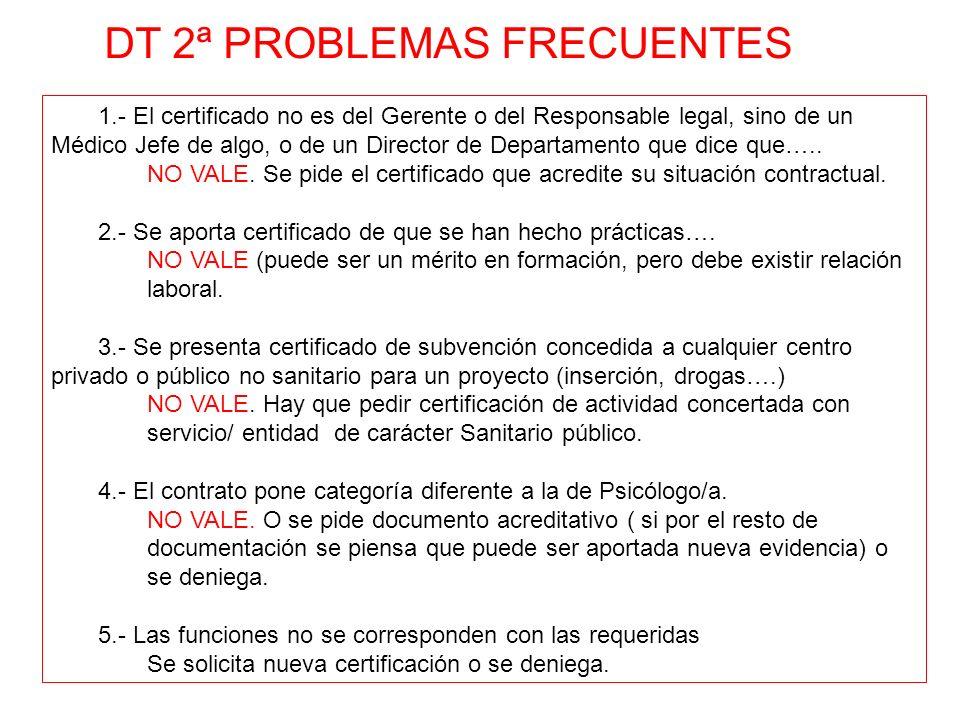 1.- El certificado no es del Gerente o del Responsable legal, sino de un Médico Jefe de algo, o de un Director de Departamento que dice que….. NO VALE