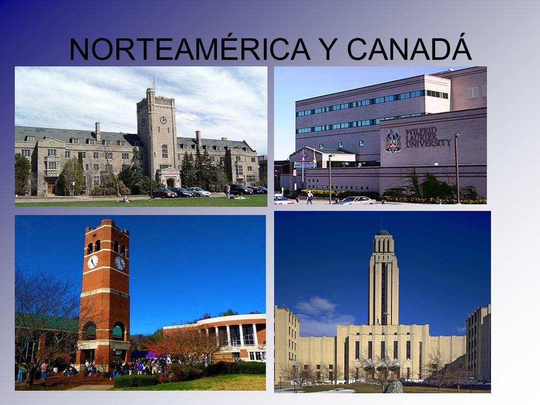 NORTEAMÉRICA Y CANADÁ