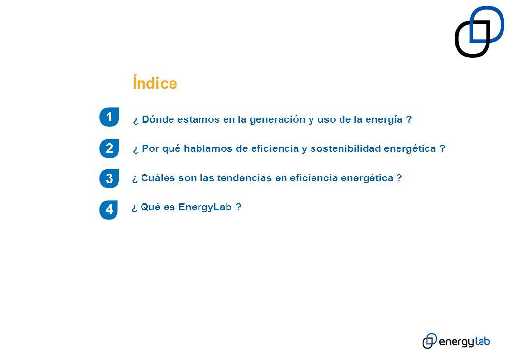 Generación Distribuida 3 ¿ Cuáles son las tendencias en eficiencia energética.