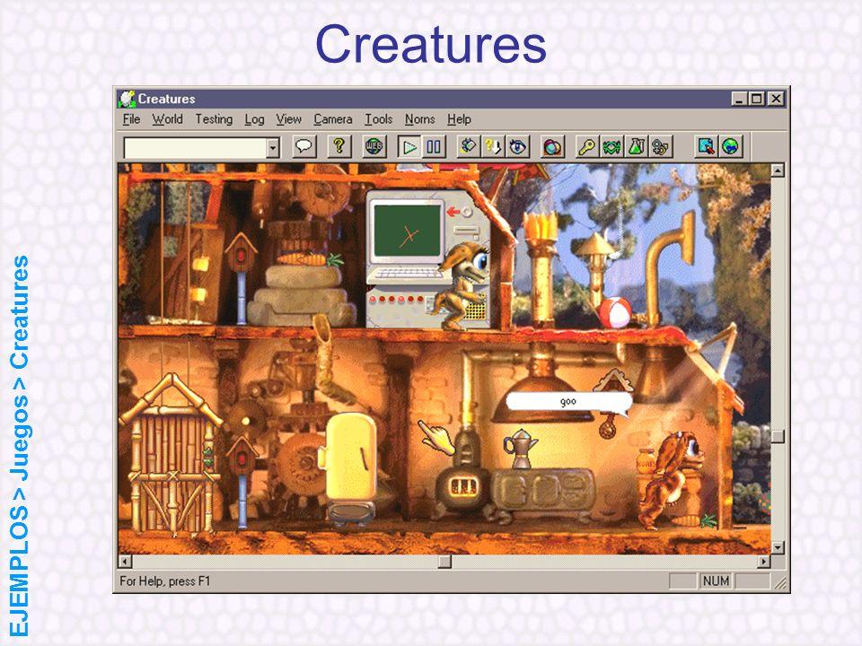 Creatures EJEMPLOS > Juegos > Creatures