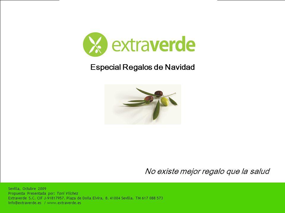 … Y ADEMÁS, Extraverde S.C.CIF J-91817957. Plaza de Doña Elvira, 8.
