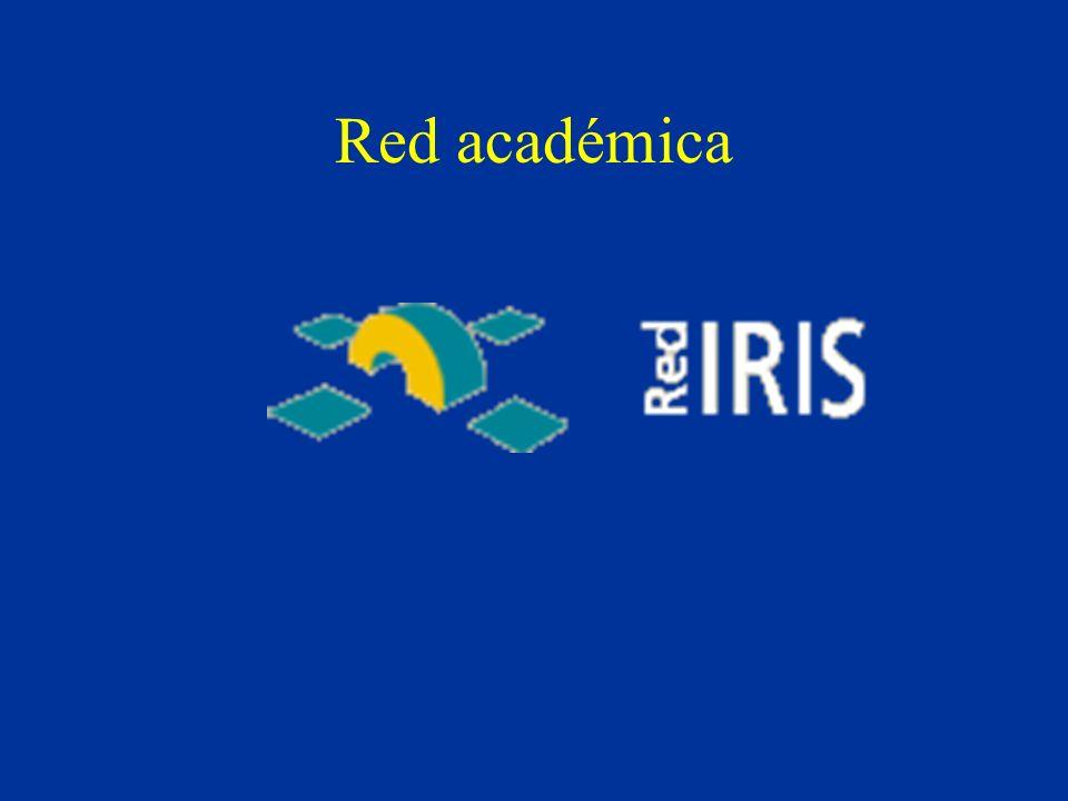 Red académica y comercial