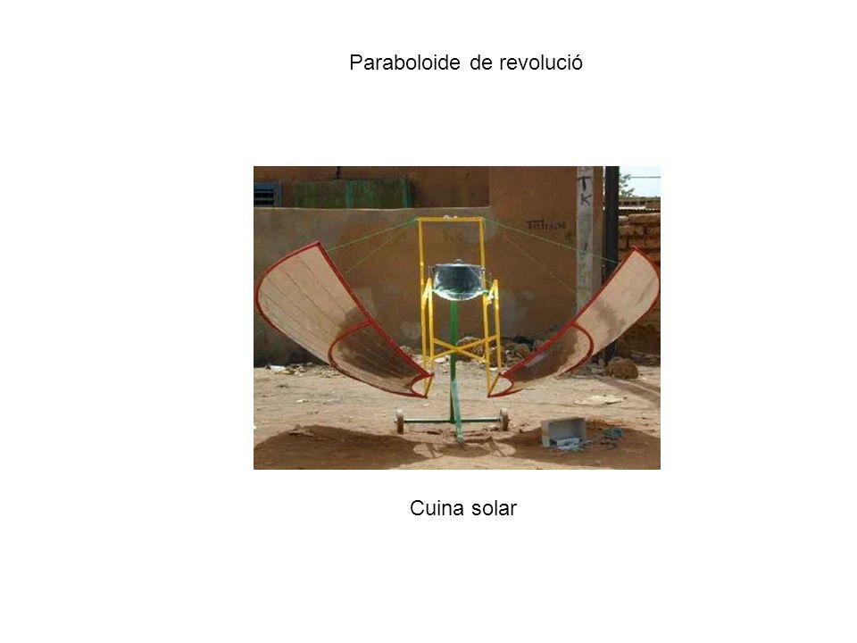 Paraboloide de revolució Cuina solar