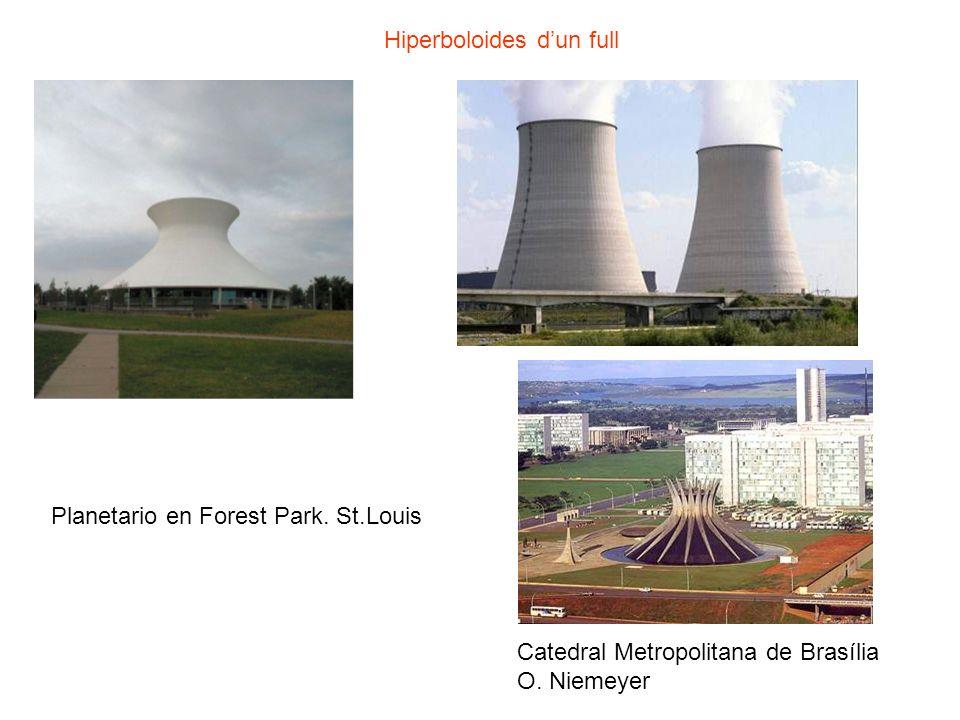 Planetario en Forest Park. St.Louis Hiperboloides dun full Catedral Metropolitana de Brasília O. Niemeyer