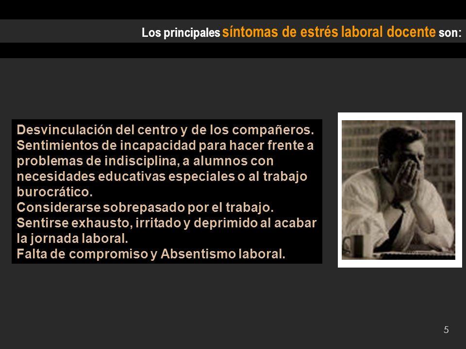 6 PPCED: PROGRAMA DE PREVENCIÓN Y CONTROL DEL ESTRÉS DOCENTE Carácter práctico.