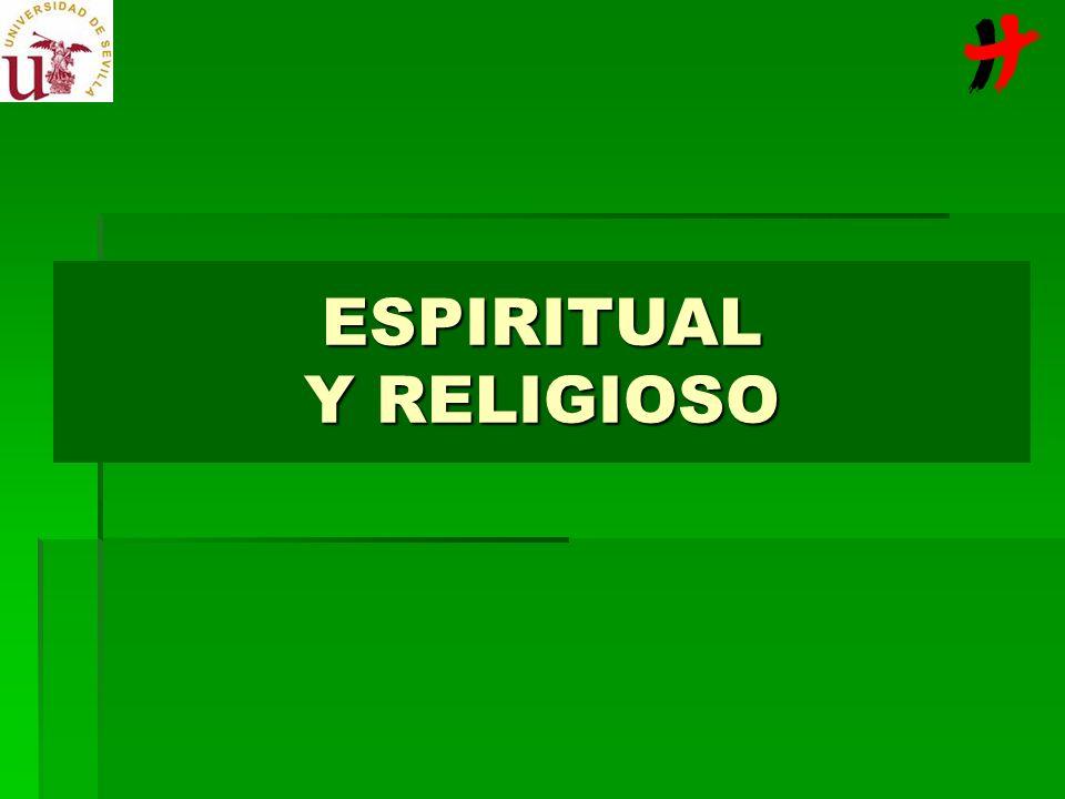 ESPIRITUAL Y RELIGIOSO