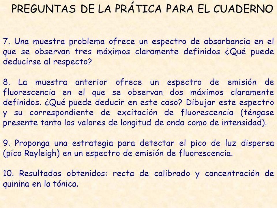 PREGUNTAS DE LA PRÁTICA PARA EL CUADERNO 7.