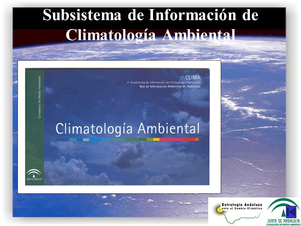 Subsistema de Información de Climatología Ambiental