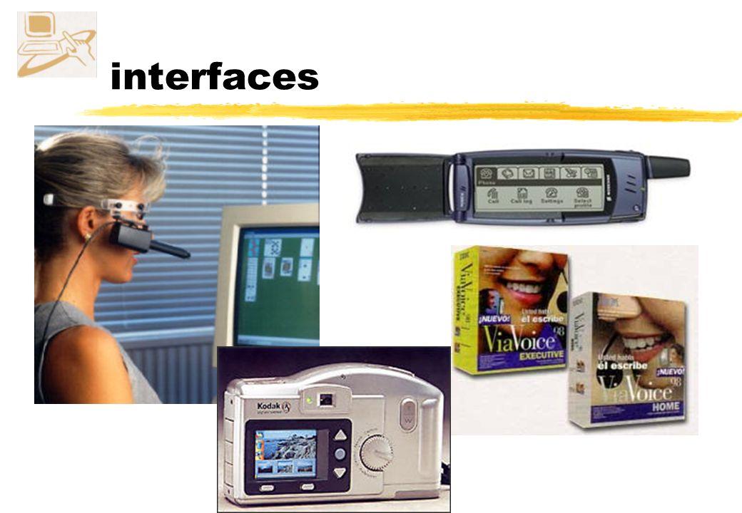 interfaz interfaces persona-ordenador