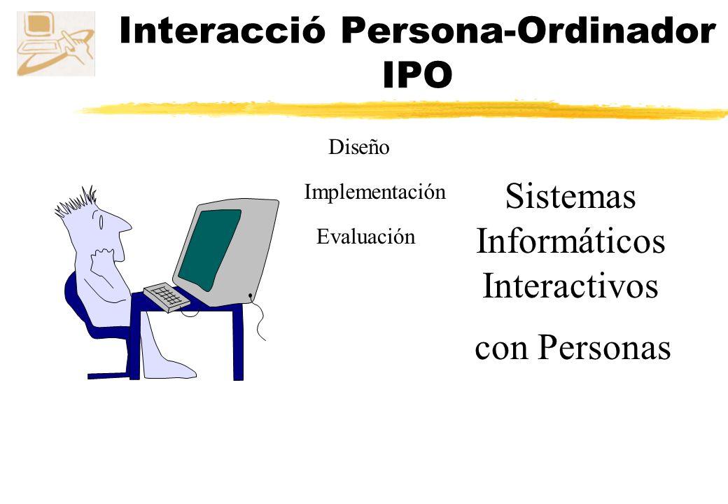 Contenidos z¿Qué es la Interacción Persona-Ordenador? z¿Qué es una interfaz? z¿Qué es la usabilidad y como la podemos medir? zAccesibilidad yUsabilida