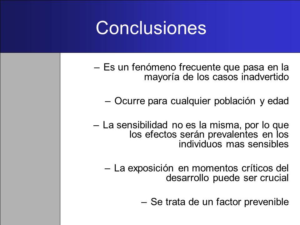 Monitorización de la exposición humana a contaminantes ambientales disruptores endocrinos Reducir o eliminar la exposición a DEs conocidos (Acción Pre