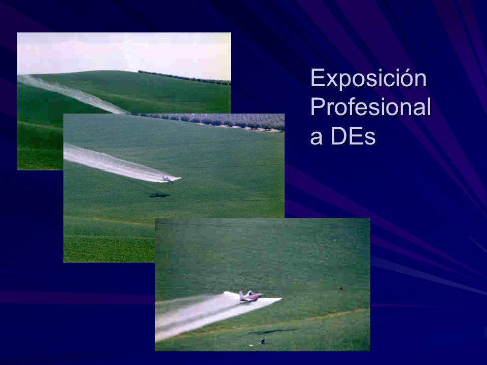 Exposición Profesional a DEs