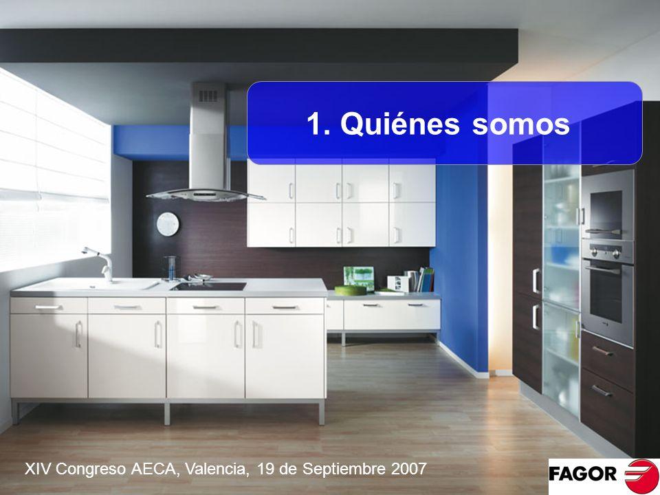 1. Quiénes somos XIV Congreso AECA, Valencia, 19 de Septiembre 2007