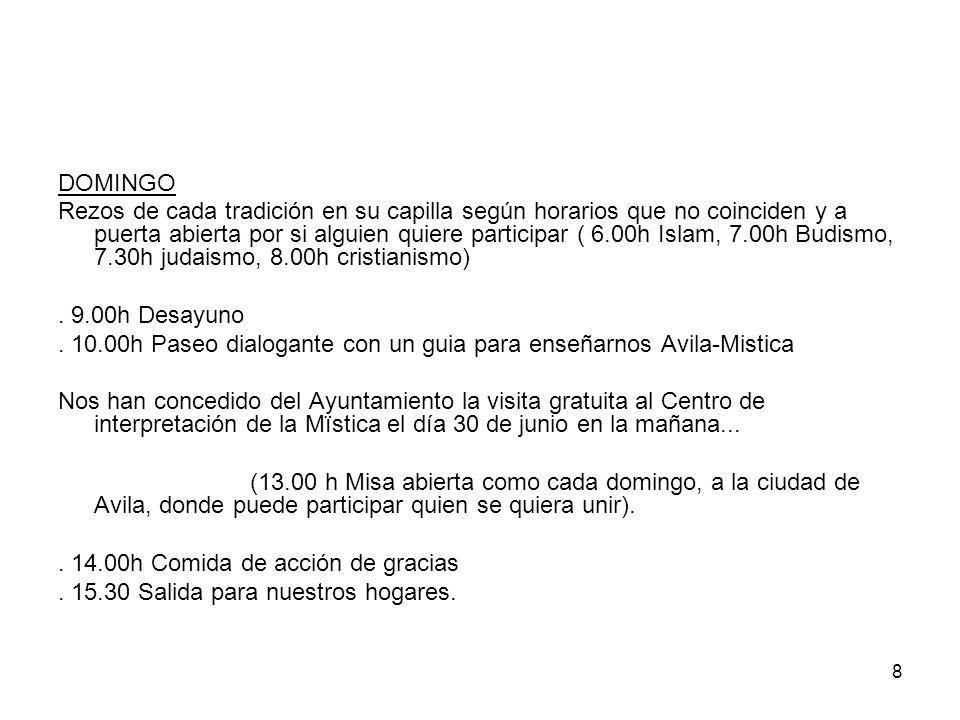 19 OTROS ASPECTOS VIAJE EN AUTOCAR Cordoba-Avila-Cordoba.