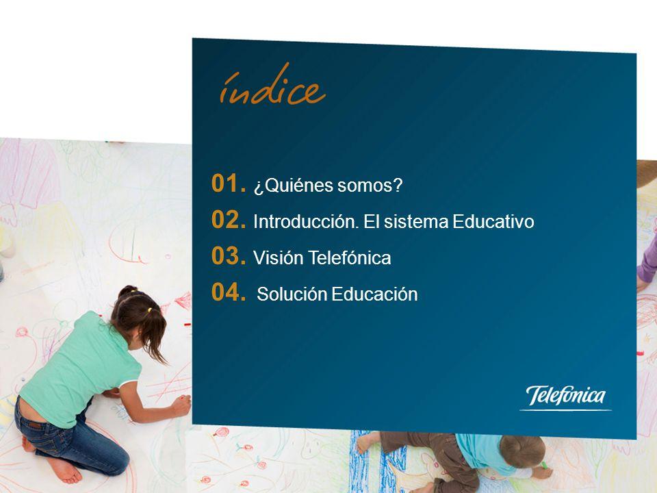 3 Telefónica Learning Services es la compañía del Grupo Telefónica especializada en ofrecer soluciones integrales de aprendizaje online para la Educación y Formación.