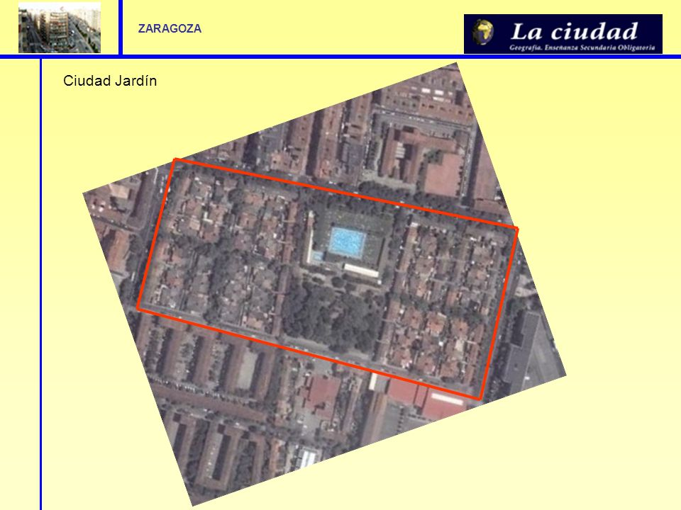 Actividades de aula Analice con los alumnos el plano de la ciudad de Zaragoza o de su localidad.