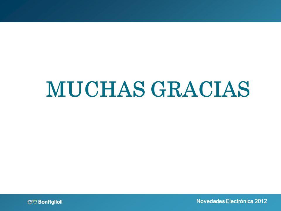 Novedades Electrónica 2012 MUCHAS GRACIAS