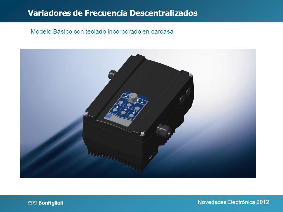 Novedades Electrónica 2012 Variadores Descentralizados Modelo Estándar