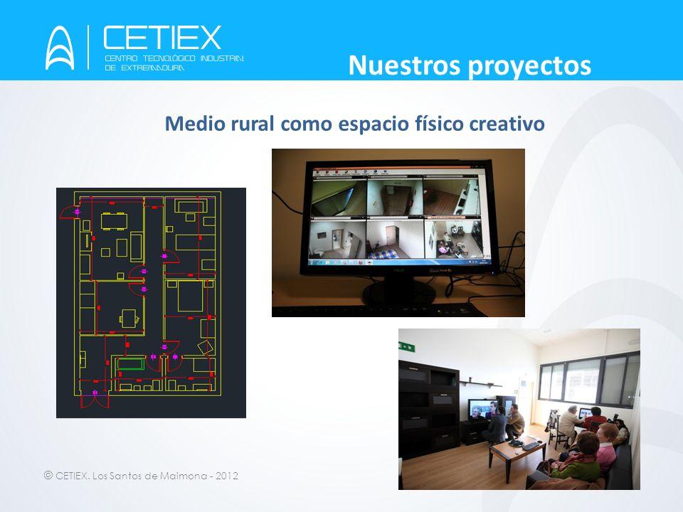 © CETIEX. Los Santos de Maimona - 2012 Nuestros proyectos Medio rural como espacio físico creativo