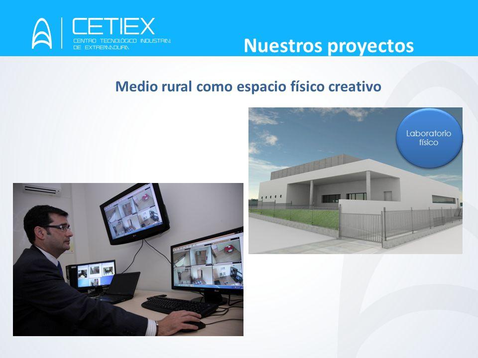 © CETIEX. Los Santos de Maimona - 2012 Nuestros proyectos Laboratorio físico Medio rural como espacio físico creativo