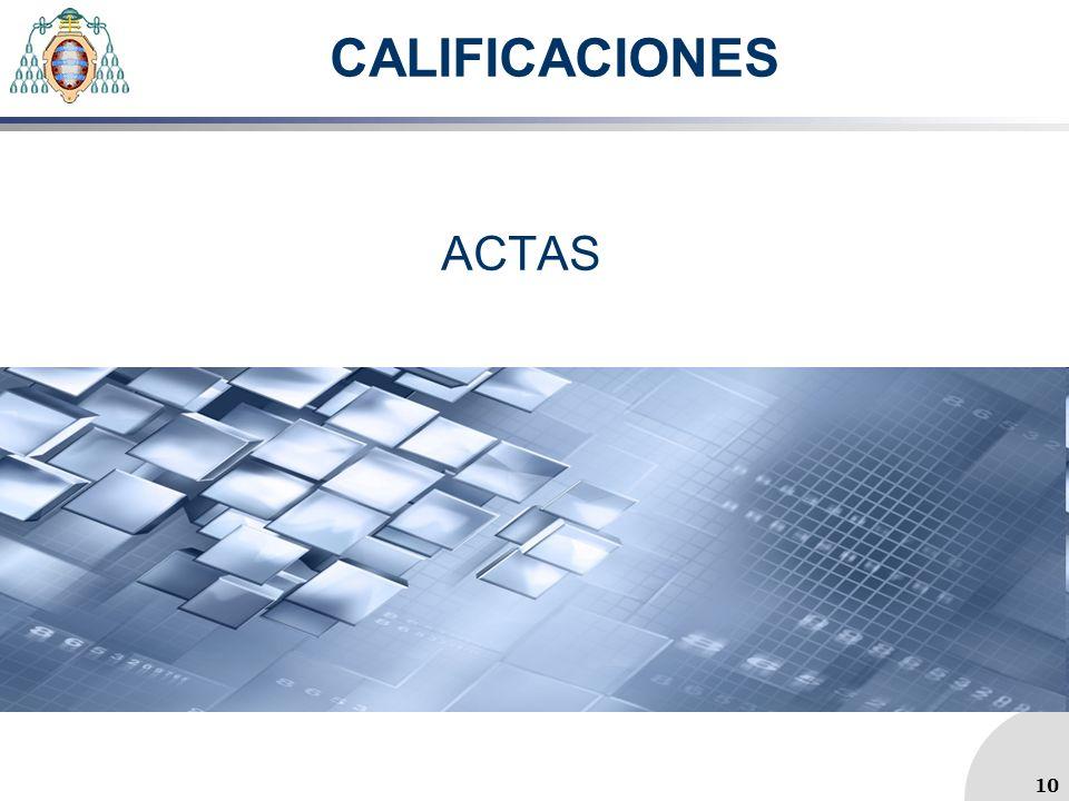CALIFICACIONES ACTAS 10