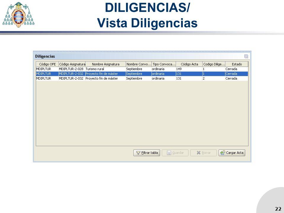 DILIGENCIAS/ Vista Diligencias 22
